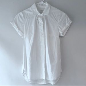 J. Crew Short Sleeve Collared Dress Shirt
